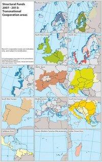 Transnationale Kooperationsräume http://ec.europa.eu/regional_policy/
