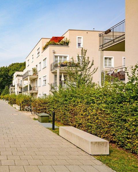 Foto Mehrfamilienhäuser am Wohnweg