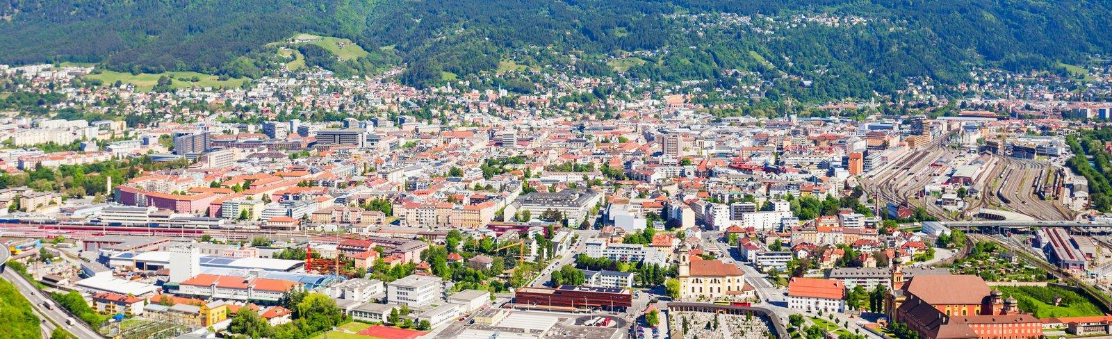 Panonarmafoto von Innsbruck